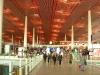 Der Flughafen Peking...