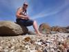 Cape Conran Muschelsuchen