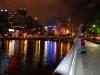 gefühlte 25°C nach dem Kino am Yarra River mit Blick auf Melbourne