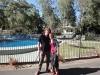 Tinka und Flo am Pool