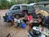 unser Camp mit Anki und Chrissi