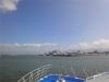 Fast zurück am Hafen