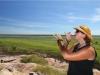 Ausblick auf die Wetlands am Ubirr Lookout