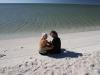 Tinka und Flo am Shell Beach