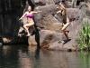 Badespaß im LitchfieldNP am Wasserfall