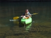 Leider war das Boot Leck, also musste Flo zurück und ein neues holen...