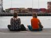 Hafen in Fremantle